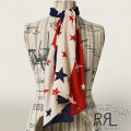 RRL : Stars & Stripes Cotton Scarf