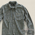 RRL : Indigo Gingham Workshirt