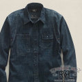 RRL : Chambray Steamfitter Shirt
