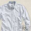 RRL : Striped Flap-Pocket Oxford