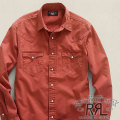 RRL : Buffalo Twill Western Shirt