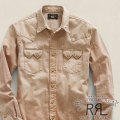 RRL : Faded Sawtooth Denim Western