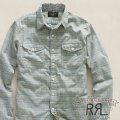 RRL : Western Dobby Check Workshirt