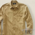RRL�����֥륢���륨�� : Lenox Flap-Pocket Dress Shirt