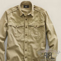 RRL : Floyd Herringbone Shirt