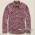 RRL�����֥륢���륨�� : Plaid Cotton Western Shirt [�����ե��åȡ�����ǥ����������������]