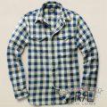 RRL�����֥륢���륨�� : Checked Cotton CPO Shirt [���ӥ��åȥ�ĥ��롿��������]