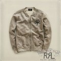 RRL�����֥륢���륨�� : Fleece Full-Zip Crewneck