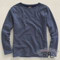 RRL : Long-Sleeved Striped Boatneck