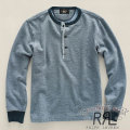 RRL : Long-Sleeved Contrast Henley