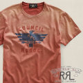 RRL : Short-Sleeved Graphic T-Shirt