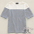 RRL : Striped Pocket Boatneck
