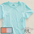 RRL�����֥륢���륨�� : RRL Washed Crewneck Tee