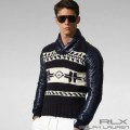 RLX ?RLX Ralph Lauren : Intarsia Shawl Sweater