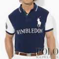  : Custom-Fit Wimbledon Polo