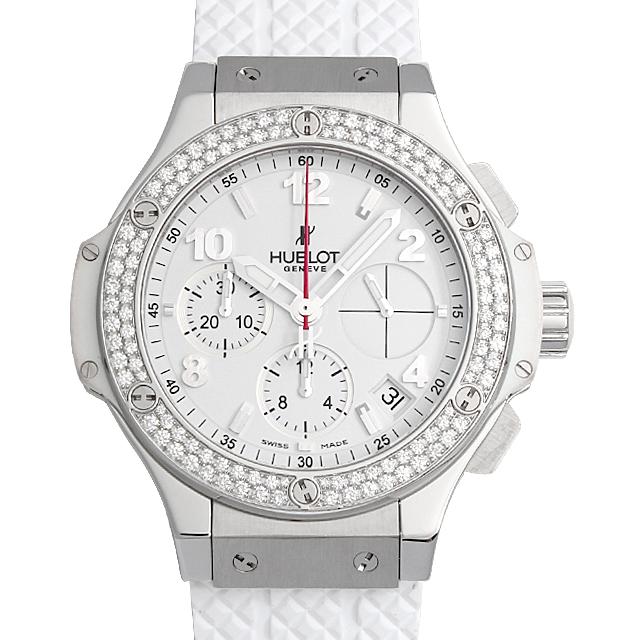 ビッグバン スチールホワイト ダイヤモンド 341.SE.230.RW.114 メイン画像