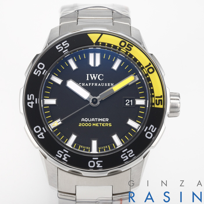 IWC アクアタイマー オートマチック2000 IW3568-01(356801) 時計銀座羅針RASIN