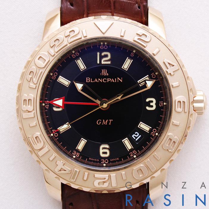 ブランパン(BLANCPAIN) トリロジーGMT 2250-3630-63BDS 時計銀座羅針RASIN