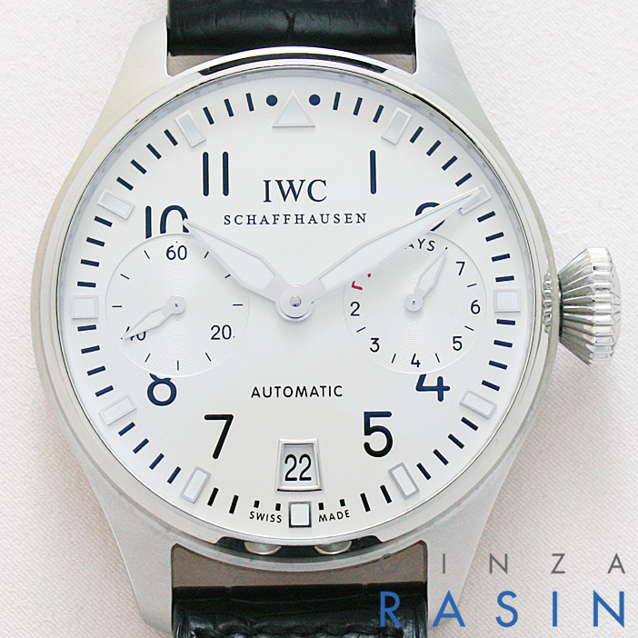 IWC ビッグパイロットウォッチ日本限定モデル IW500418 (5004-18) メンズ