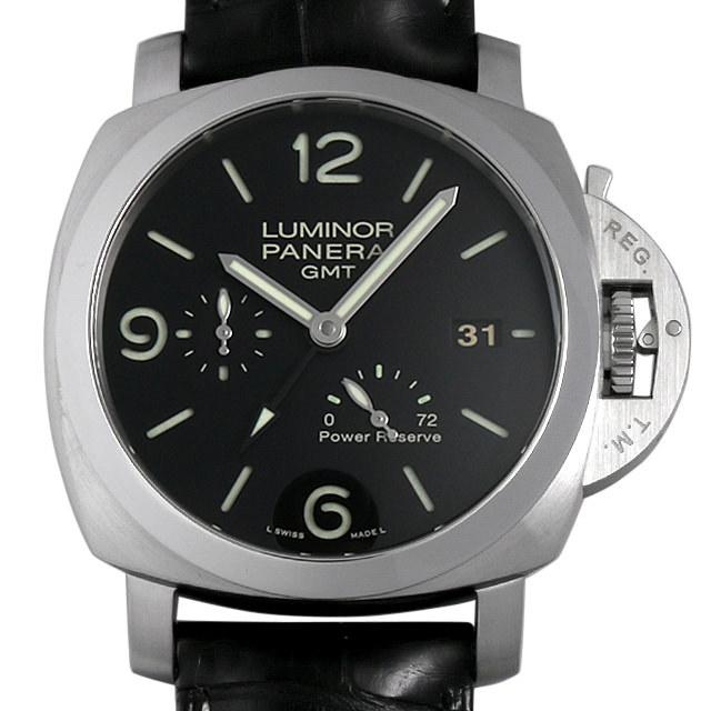 パネライ ルミノール1950 3DAYS GMT P番 PAM00321 中古 メンズ