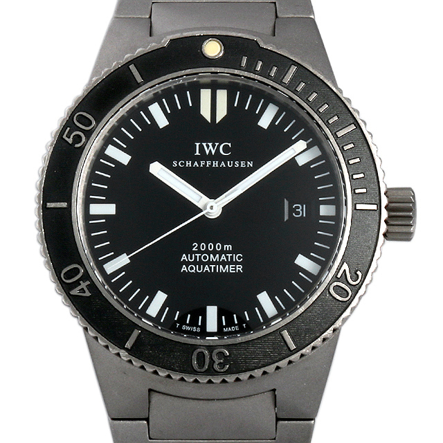 IWC GSTアクアタイマー IW353601(3536-001) 中古 メンズ