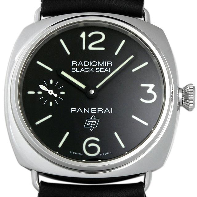 ラジオミール ブラックシール ロゴ PAM00380 メイン画像