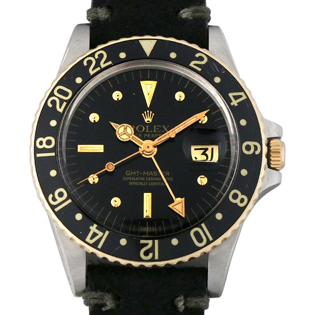 ロレックス GMTマスター 58番 1675 フジツボダイアル アンティーク メンズ