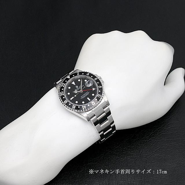 GMTマスターII 黒ベゼル 16710 サブ画像3