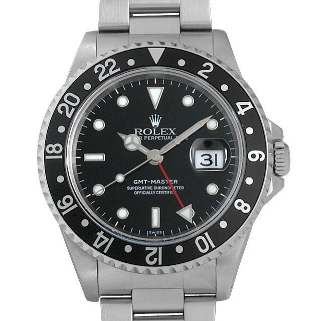 ロレックス GMTマスター 黒ベゼル A番 16700 中古 メンズ