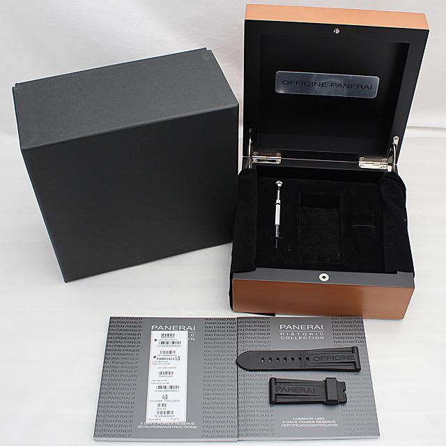 ルミノール1950 3DAYS パワーリザーブ PAM00423 サブ画像5