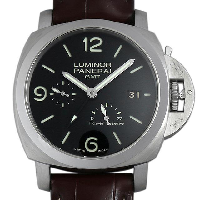 パネライ ルミノール1950 3DAYS GMT O番 PAM00321 中古 メンズ