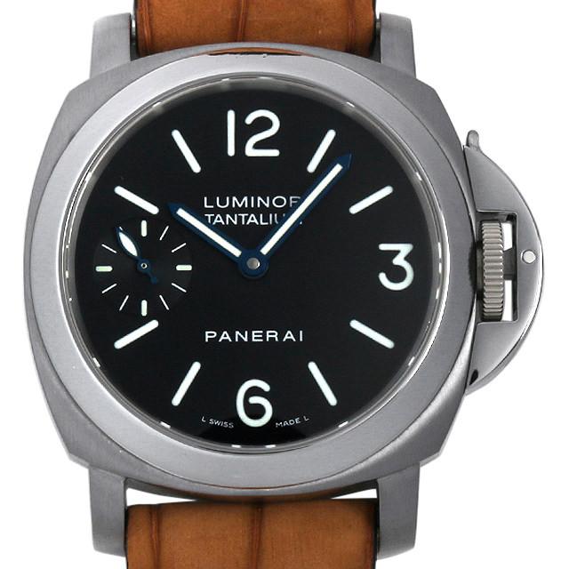 パネライ ルミノール タンタリウム 世界限定300本 F番 PAM00172 中古 メンズ