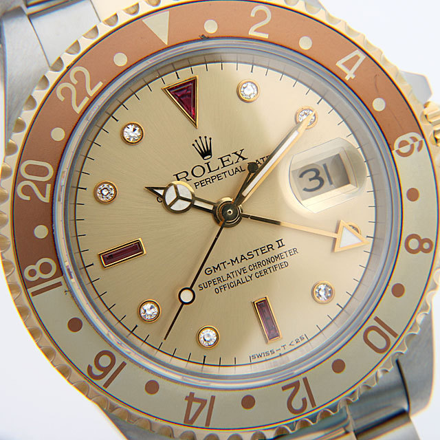 GMTマスターII 16713RG サブ画像5