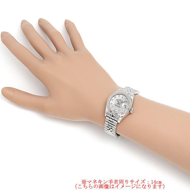 デイトジャスト 10Pダイヤ 179174NG サブ画像3