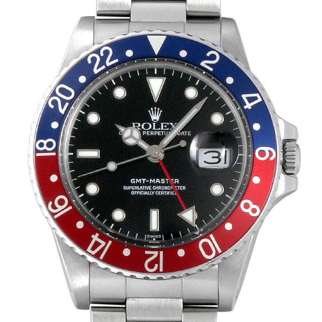 ロレックス GMTマスター 赤青ベゼル R番 16750 中古 メンズ