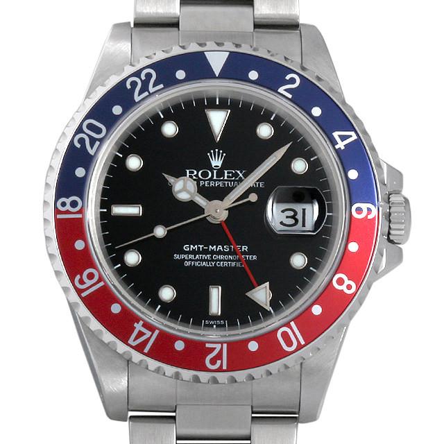 ロレックス GMTマスター 赤青ベゼル U番 16700 中古 メンズ