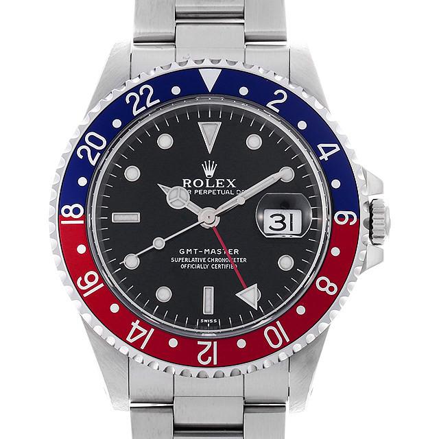 ロレックス GMTマスター 赤青ベゼル 16700 U番