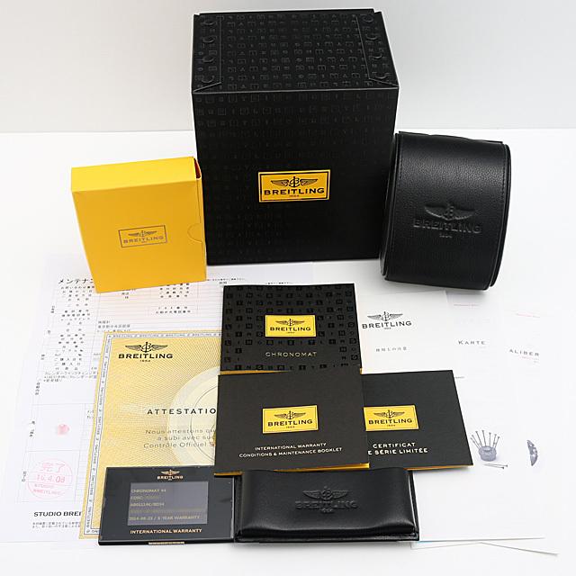 クロノマット44 ブラックMOP ブラックアイ 日本限定400本 S012BJAPA(AB0111) サブ画像5