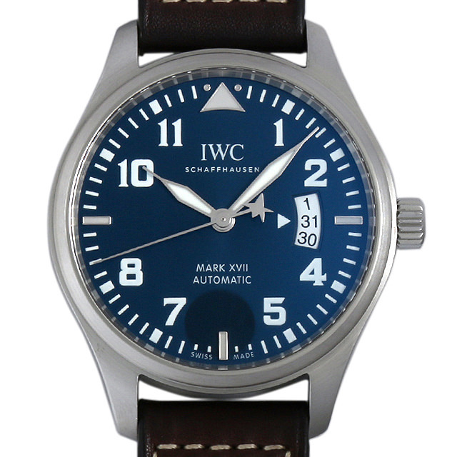 IWC パイロットウォッチ マーク17 プティ プランス 世界限定1000本 IW326506 中古 メンズ