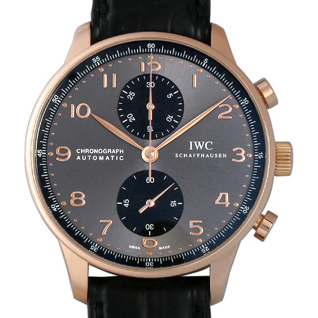 IWC ポルトギーゼ クロノグラフ IW371482 中古 メンズ