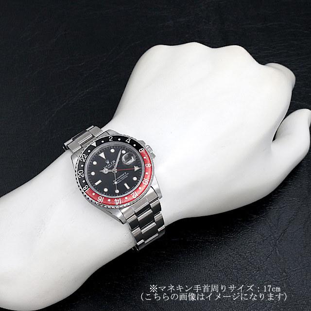GMTマスターII 赤黒ベゼル ファットレディ 16760 サブ画像3