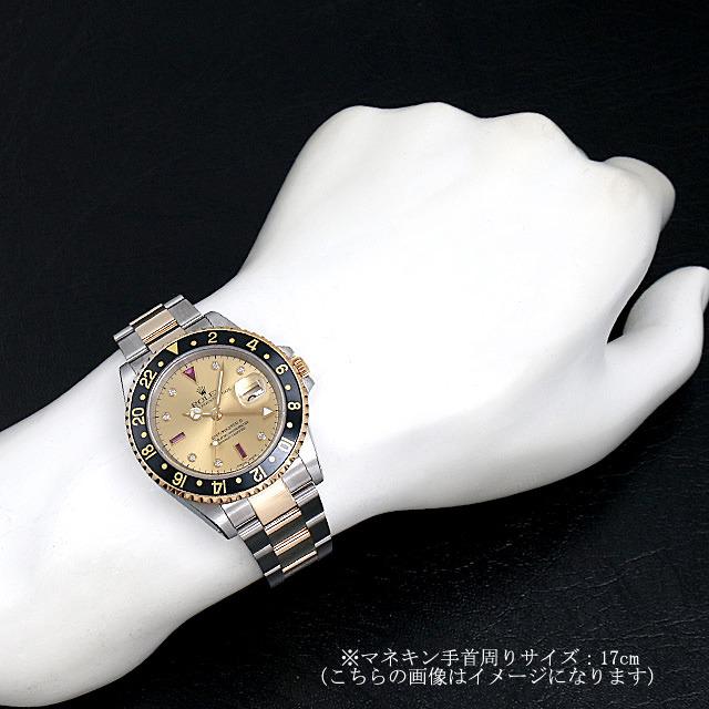 GMTマスターII 16713RG サブ画像3