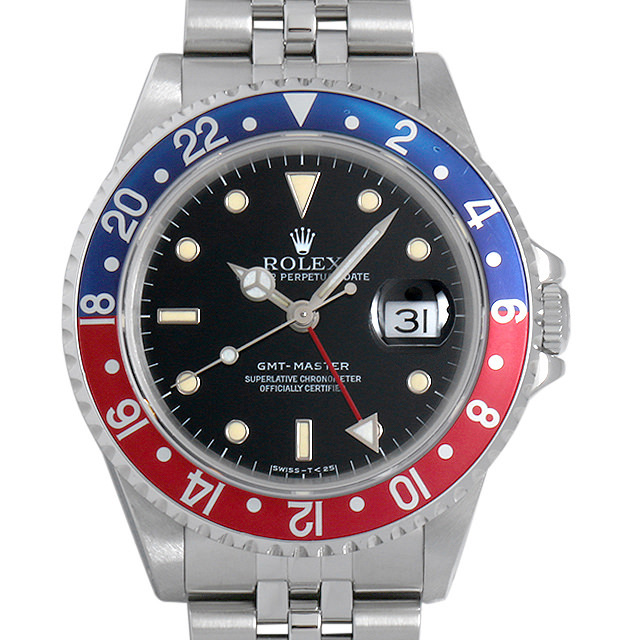 ロレックス GMTマスター 赤青ベゼル N番 16700 ジュビリーブレス