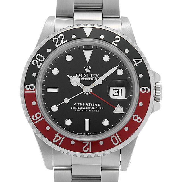 ロレックス GMTマスターII 赤黒ベゼル 16710 X番