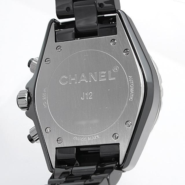 J12 黒セラミック クロノグラフ 9Pダイヤ H2419 サブ画像5