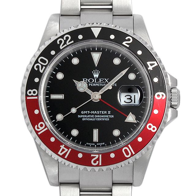 GMTマスターII 赤黒ベゼル 16710 メイン画像