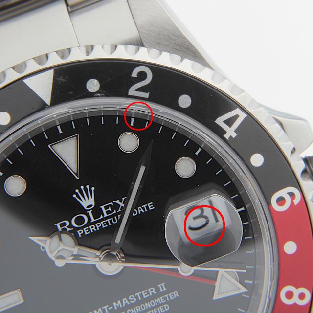 GMTマスターII 赤黒ベゼル 16710 サブ画像5