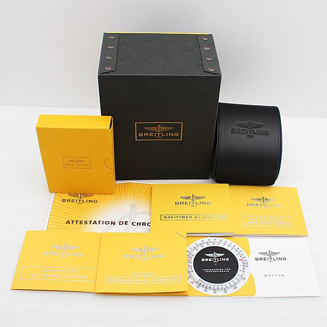 ナビタイマー01 リミテッド 世界限定2000本 S232G56NP(AB0123) サブ画像5