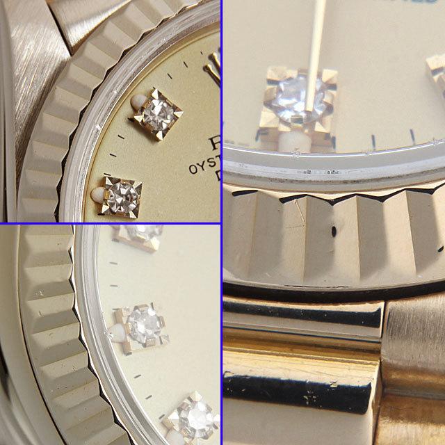 デイトジャスト 10Pダイヤ 69178G サブ画像4