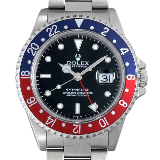 ロレックス GMTマスター 赤青ベゼル A番 16700 中古 メンズ